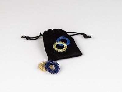 fingerpocket (blue/gold)